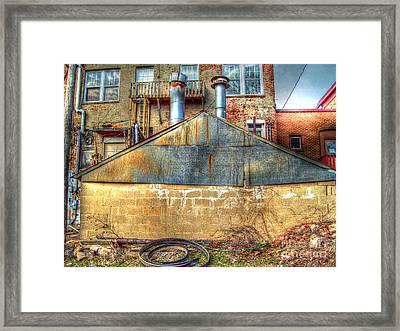 Out Back Framed Print by MJ Olsen