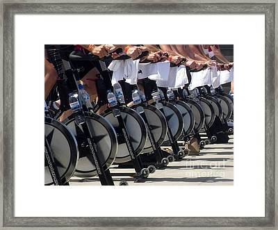 Out For A Spin Framed Print by Jayne Abbott Ribeiro