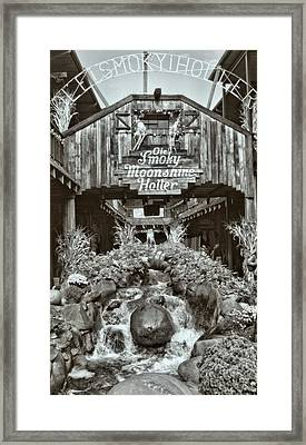 Out In The Holler Framed Print by Dan Sproul