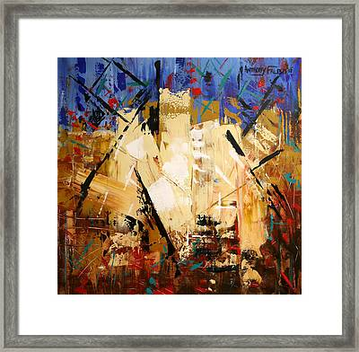 Out Of Darkness Framed Print by Anthony Falbo