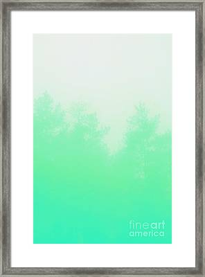 Mint Forest Framed Print by Nava Seas