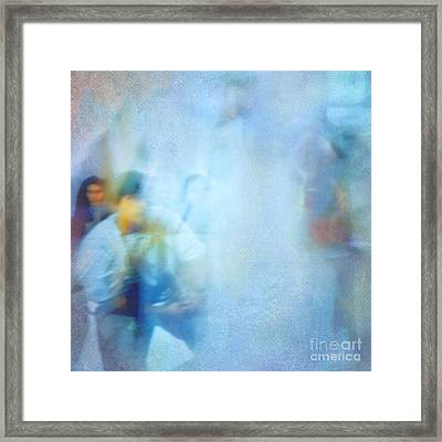 Out-of-focus Framed Print by VIAINA Visual Artist