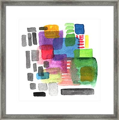 Out Of The Box Framed Print by Linda Woods