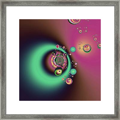 Out Of The Dark Framed Print by Wendy J St Christopher