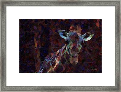 Out Of The Darkness Framed Print by Mary Machare