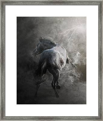 Out Of The Fire Framed Print by Pamela Hagedoorn