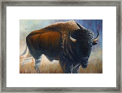 Out Of The Mist Framed Print by Clay Hibbard