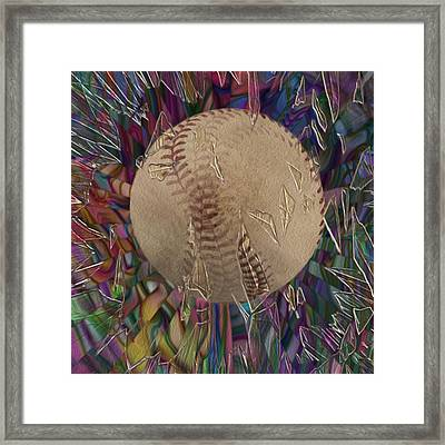 Out Of The Park Framed Print by Jack Zulli