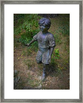 Out Of The Woods Framed Print by Frank Wilson
