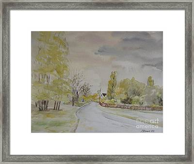 Out Of The Woods Framed Print by Martin Howard