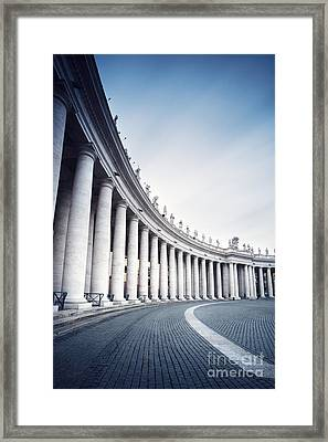 Out Of Time Framed Print by Matteo Colombo