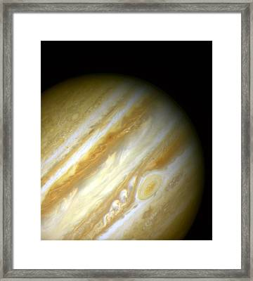 Outer Space Three Zero Six Framed Print by Nasa Usgs