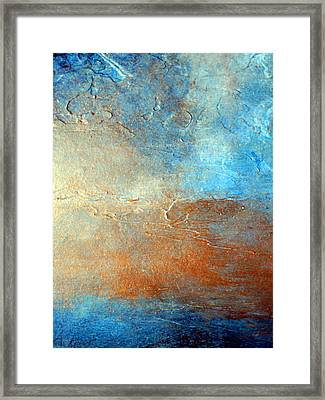 Outlook Framed Print by Holly Anderson