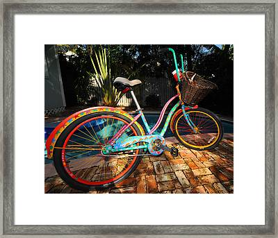 Outrageous Bike Framed Print by Rob O'Neal