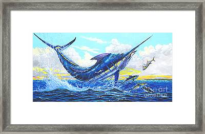 Outrageous Off00129 Framed Print by Carey Chen