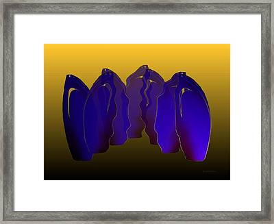 Outside Position Framed Print by Mario Perez