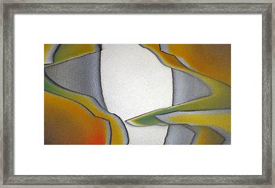 Outside The Box Framed Print by Bill Morgenstern