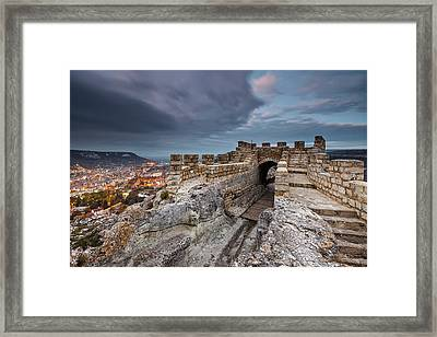 Ovech Fortress Framed Print by Evgeni Dinev