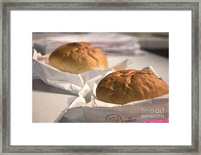 Oven Fresh Framed Print by Howard Tenke