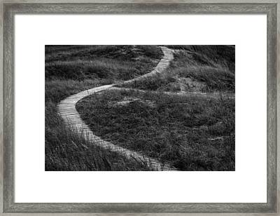Over And Out Framed Print by Josh Eral