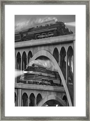 Over And Under Framed Print by Mike McGlothlen