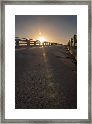 Over Pass Framed Print by Kristopher Schoenleber