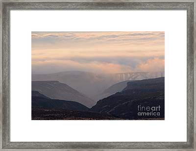 Over The Bridge Framed Print by Mike Dawson