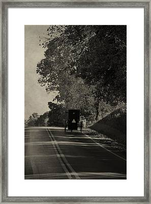 Over The Hills And Far Away Framed Print by Dan Sproul