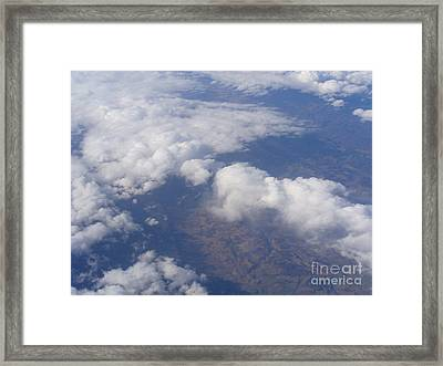 Over The Mountains Framed Print by Lingfai Leung