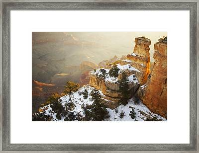Over Time Framed Print by Peter Coskun