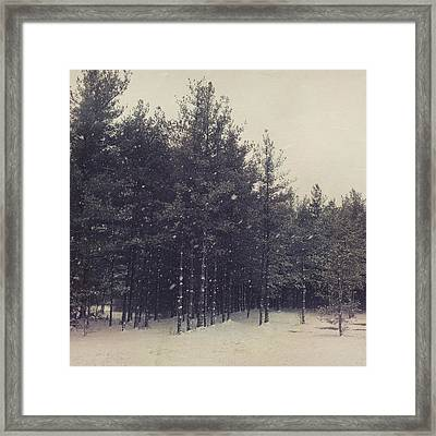 Overcast Framed Print by Joy StClaire