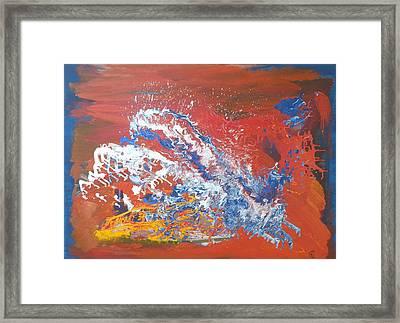 Overdosed Framed Print by Ed Ciolina