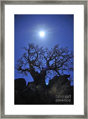 Above And Beyond Framed Print by Ken Lara