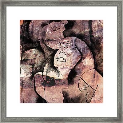 Overlaps I Framed Print by Paul Davenport