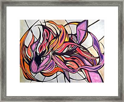 Overwhelmed Framed Print by Tara Francoise