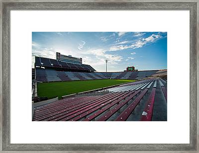Owen Field  Framed Print by Nathan Hillis