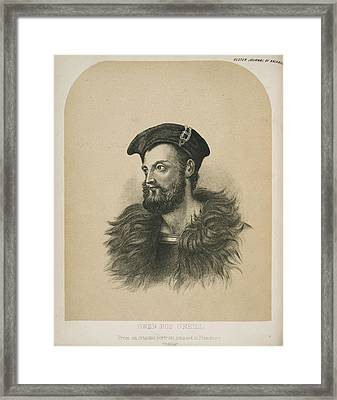 Owen Roe O'neill Framed Print by British Library