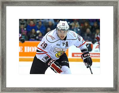 Owen Sound Attack Framed Print by Rob Andrus