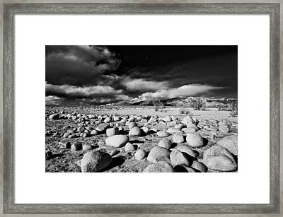 Owens Dry Lakebed Framed Print by Cat Connor