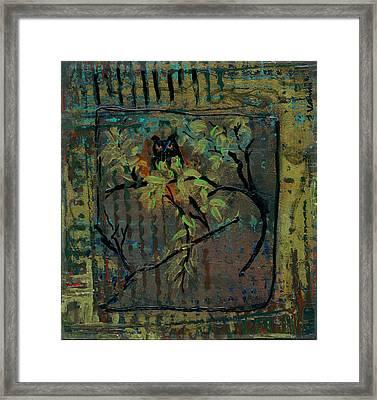 Owl Framed Print by Ethel Vrana