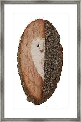 Owl Framed Print by Irina Martynova