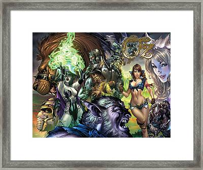Oz 01k Framed Print by Zenescope Entertainment