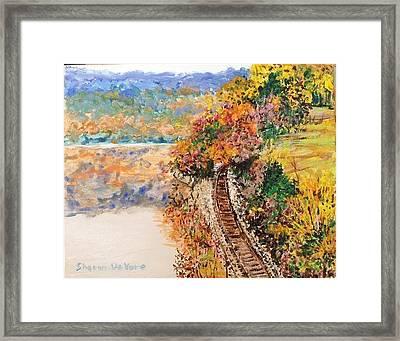 Ozark Arkansas Framed Print by Sharon  De Vore