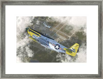 P-51 H Framed Print by Robert Perry