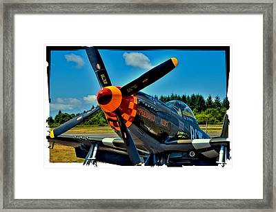 P-51 Mustang Framed Print by David Patterson