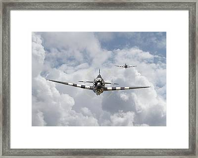 P47 D - Thunderbolt Framed Print by Pat Speirs