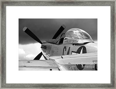 P51 D Framed Print by Remy NININ