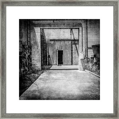 Pacific Airmotive Corp 02bw Framed Print by YoPedro