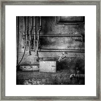 Pacific Airmotive Corp 03b Framed Print by YoPedro