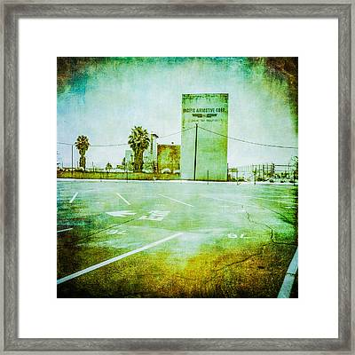 Pacific Airmotive Corp 08 Framed Print by YoPedro